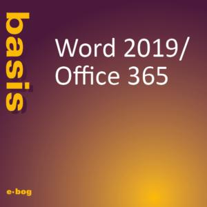 Word 2019, Office 365, basis e-bog, IT Univers