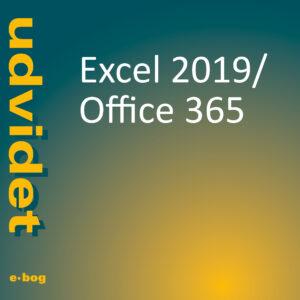 Excel 2019, Office 365 udvidet e-bog