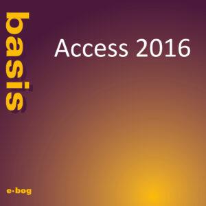 Access 2016, basis e-bog, IT Univers