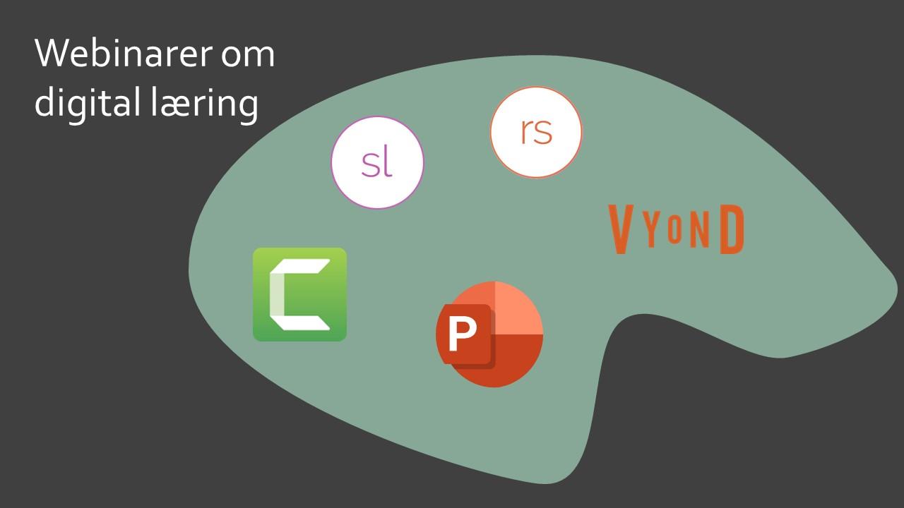 Webinar om e-learning palette med værktøj til udvikling