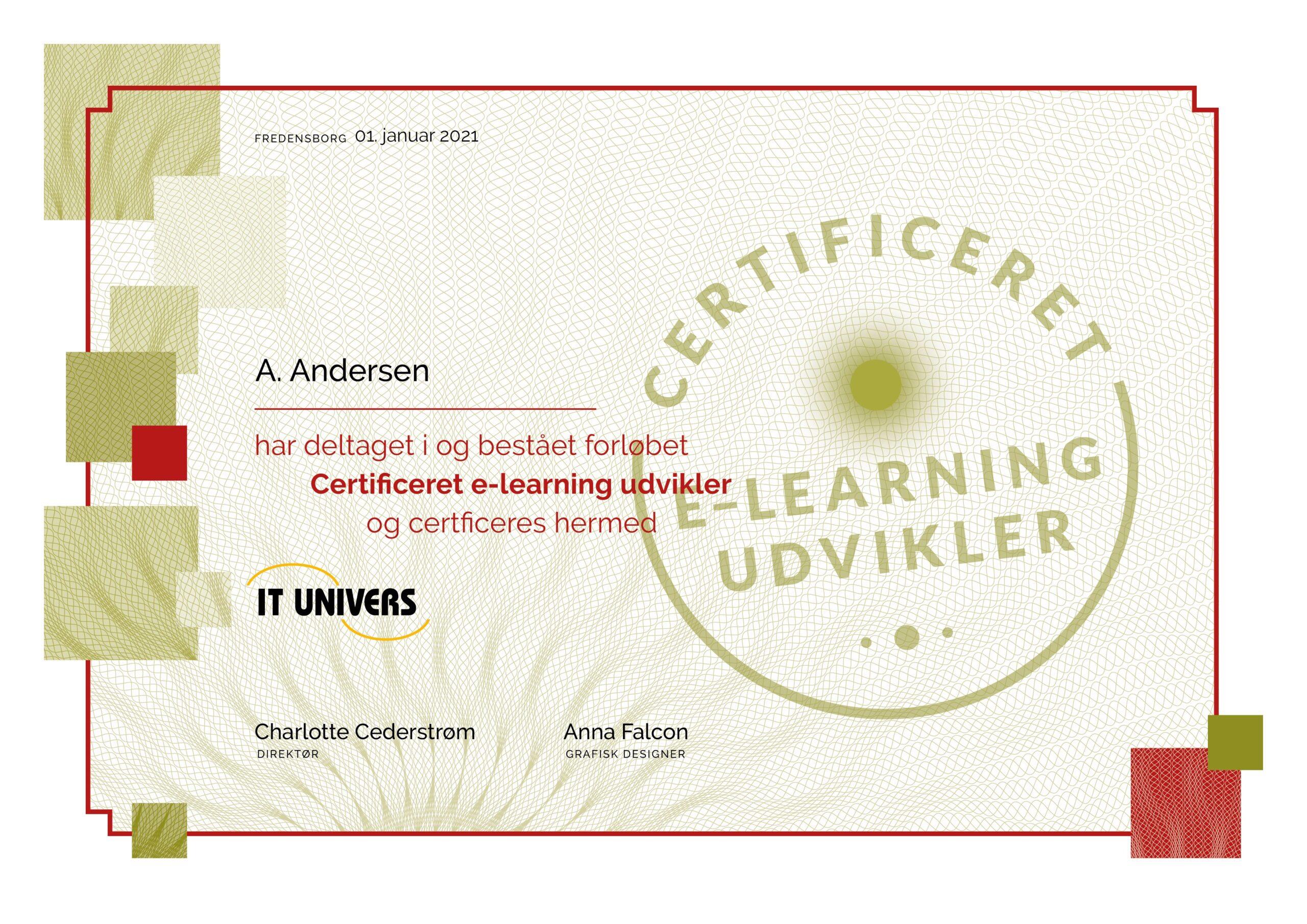 Certificeret e-learning udvikler certifikat Articulate Storyline